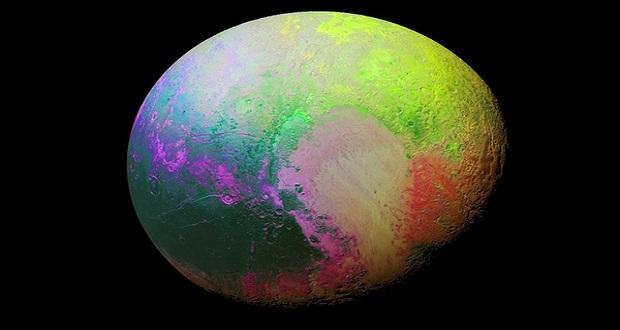 عکس فوق که اواسط ماه مهر توسط کاوشگر نیوهورایزنز به ثبت رسیده که زیبایی ها، شگفتی ها و پیچیدگی های پلوتو و سیستم قمری اش را نشان می دهد.