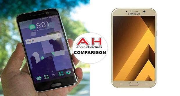 مقایسه تلفن های همراه: اچ تی سی ۱۰ در مقابل سامسونگ گلکسی ای ۷