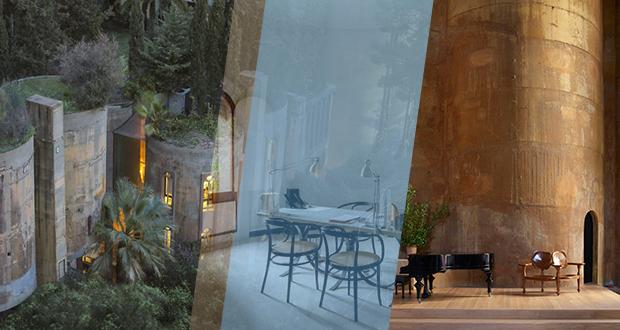 تصاویر | معماری که کارخانه قدیمی سیمان را به خانهاش تبدیل کرد