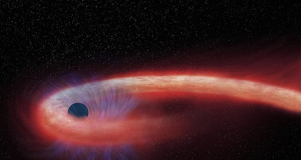 طولانی ترین مرگ یک ستاره ثبت شد؛ سیاهچاله ای در حال بلعیدن!