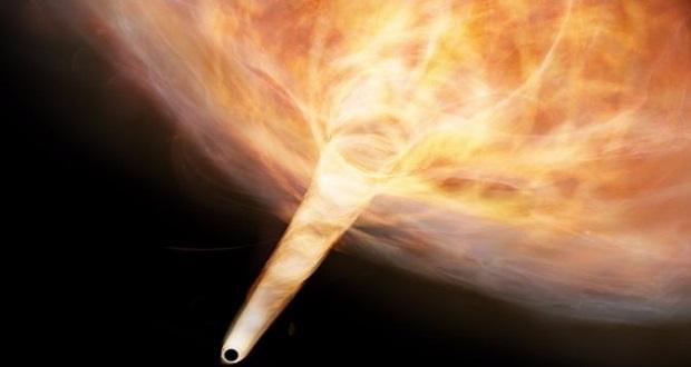 سیاه چاله سرگردان در کهکشان راه شیری، ممکن است گلوله ای کیهانی باشد!
