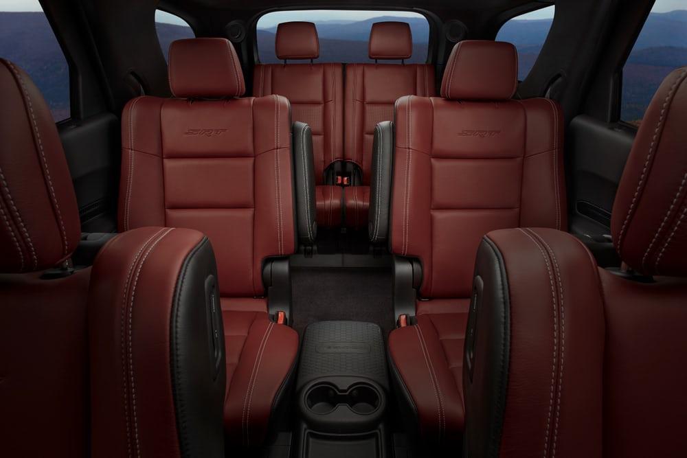 سه ردیف صندلی بزرگ دوج دورانگو SRT