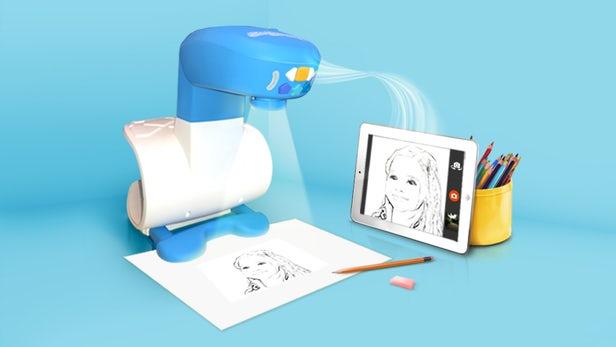 پروژکتور هوشمندی که به کودکان یاد میدهد، چطور بهتر نقاشی کنند