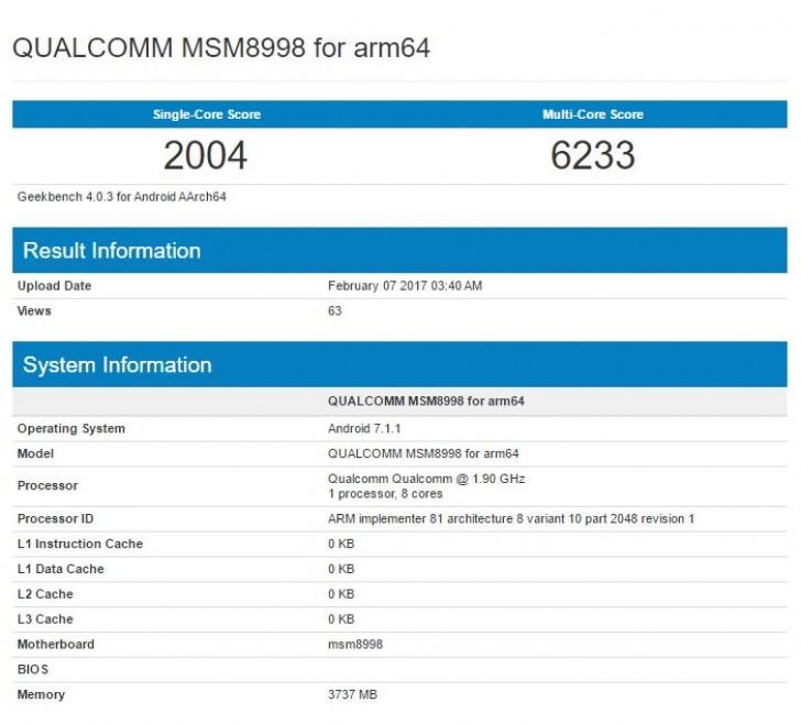پردازنده اسنپدراگون 835 کوالکام
