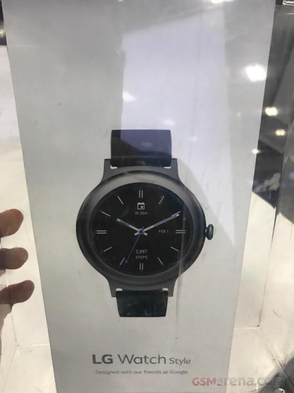 تصاویر ساعت هوشمند ال جی واچ استایل