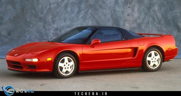 آکورا NSX مدل سال 1990 میلادی