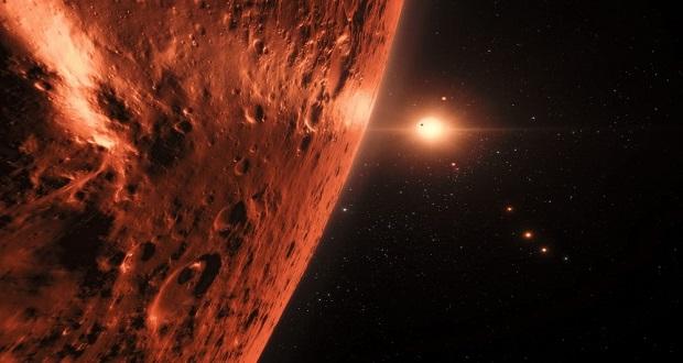 تلسکوپ فضایی جیمز وب به دنبال حیات در سیارات منظومه تراپیست-۱
