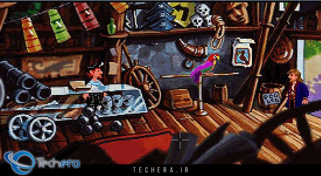 Monkey Island 2 یکی از بهترین بازیهای کامپیوتری دهه 90 میلادی
