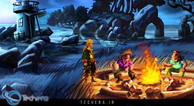 مقایسه نسخه اصلی و بهینه سازی شده بازی Monkey Island 2