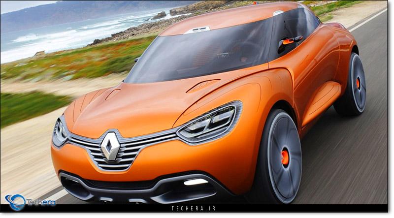 خودروی مفهومی رنو کپچر محصول سال 2011 میلادی