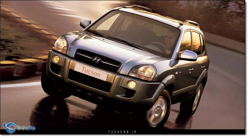 هیوندای توسان نسل اول مدل سال 2004 میلادی