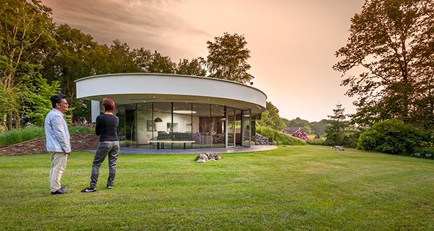 ویلای 360 ، خانهای کوچک و مدرن، ساخته شده برای یک زوج با چند حیوان خانگی در هلند
