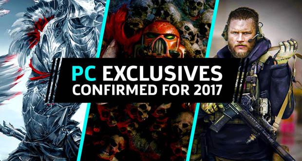 معرفی اجمالی چند بازی انحصاری برای کامپیوترهای شخصی (PC) برای سال ۲۰۱۷
