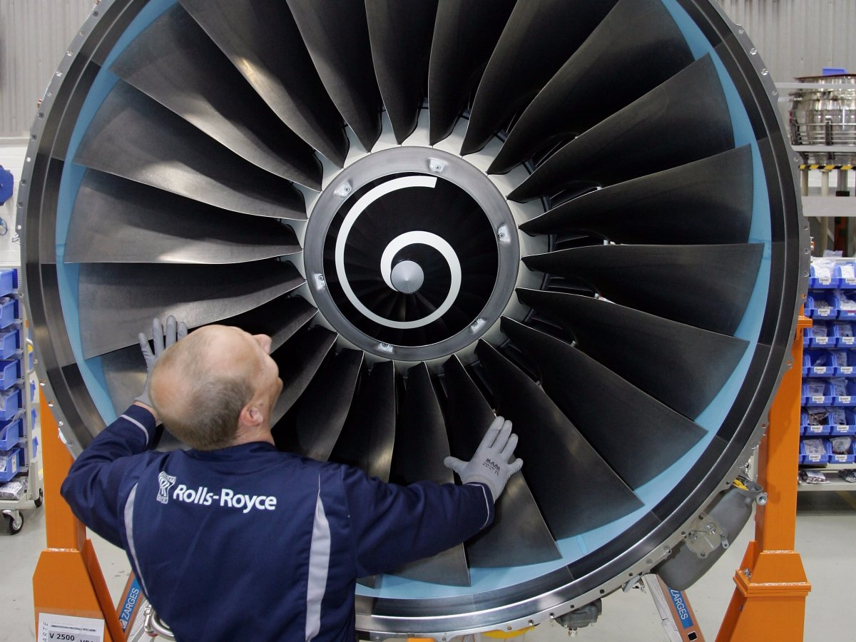 بخش هوا فضا رولز-رویس | Rolls-Royce Aerospace