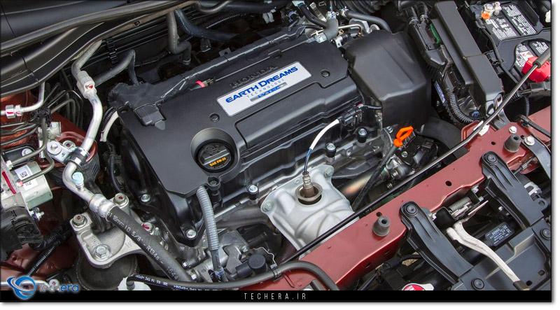 موتور نسل پنجم هوندا سیآر-وی