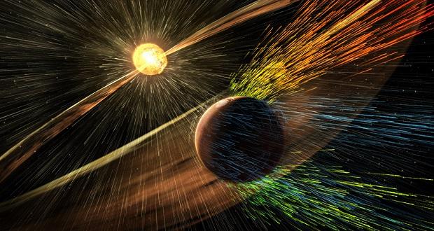 طرح پیشنهادی ناسا برای محافظت از جو مریخ با سپر مغناطیسی