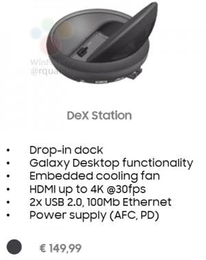 داک سامسونگ DeX Station به صورت اختصاصی برای گلکسی S8 و گلکسی S8 پلاس عرضه خواهد شد و با استفاده از مانیتور به آن میتوان یک کامپیوتر در اختیار داشت.