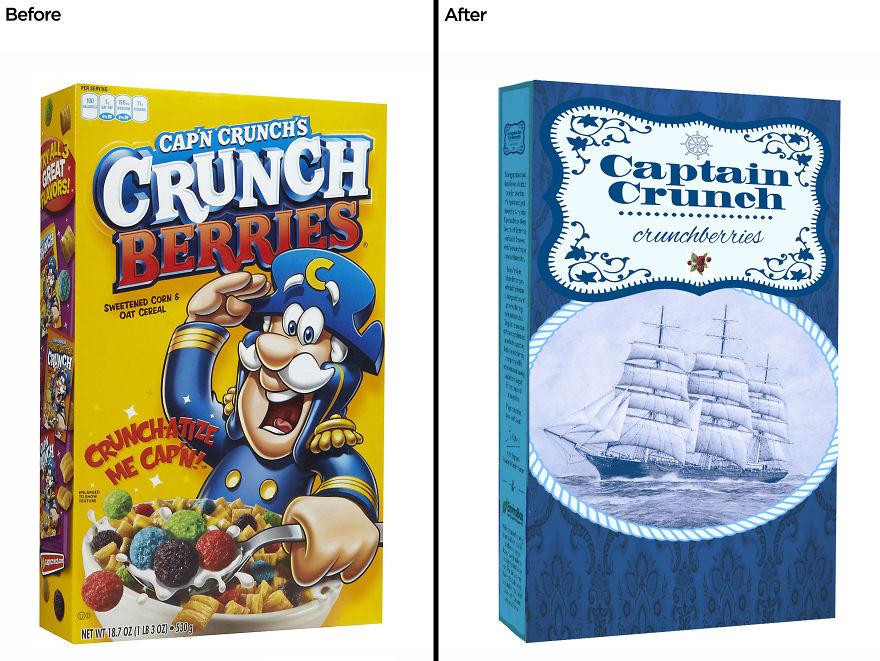 بسته بندی Cap'n Crunch