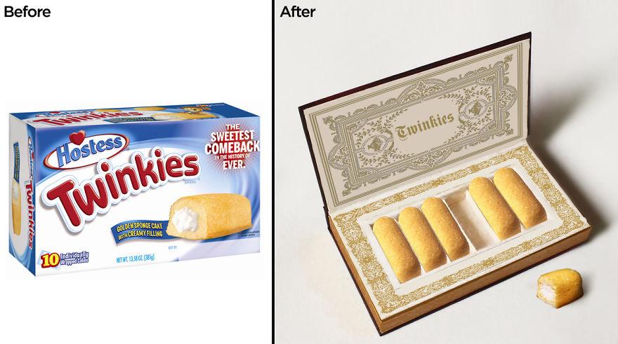بسته بندی Twinkies