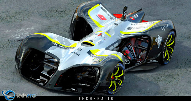 خودروی خودران جدید مسابقات روبوریس با سرعت 320 کیلومتر در ساعت