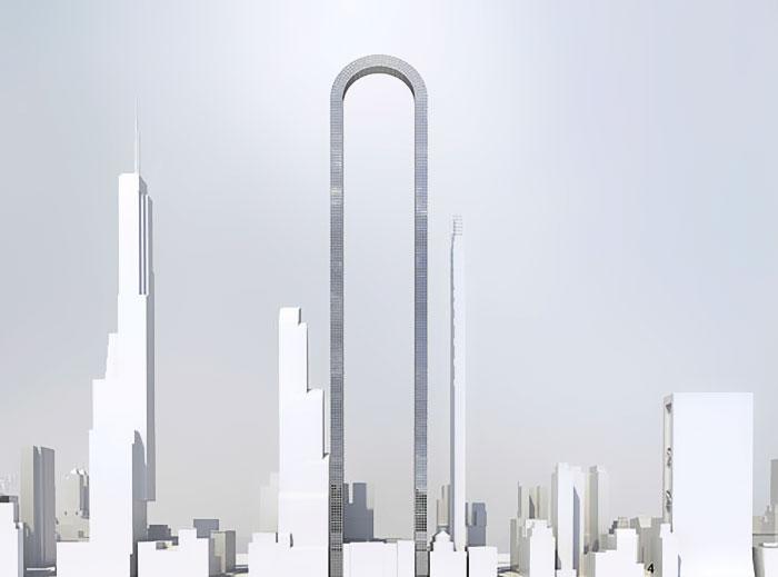 تاریخ ساخت این سازه هنوز مشخص نیست اما پس از ساخته شدن، دورنمای منهتن را در بر خواهد گرفت.