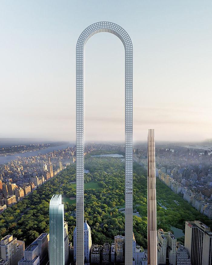 نام این سازه The Big Bend است؛ یک آسمان خراش خمیده با طراحی انقلابی که در خیابان شماره 57 نیویورک ساخته خواهد شد.