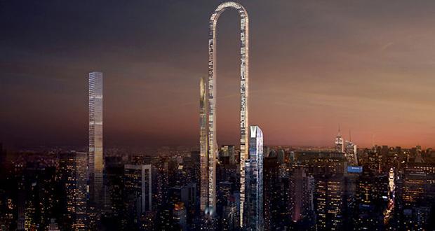 آسمان خراش شگفت انگیز U شکل در شهر نیویورک ساخته خواهد شد