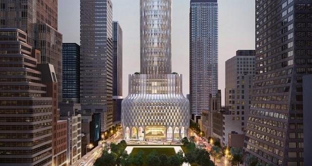 رونمایی از طرح عظیم استودیو معماری زاها حدید، آسمانخراشی برای کوشنر