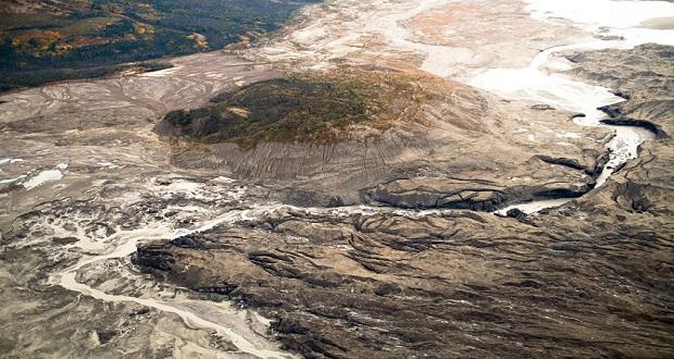 رودخانه ای در کانادا تنها در عرض چهار روز به کلی ناپدید شد!