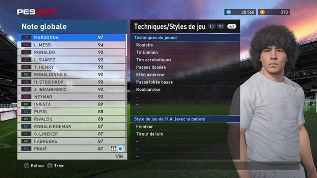 شکایت دیگو مارادونا از شرکت کونامی بدلیل استفاده از او در بازی PES 2017