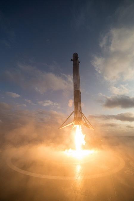 اسپیس ایکس قصد دارد، مرحله اول فالکون 9 را درجایی در پایگاه فضایی کیپ کاناورال برای نمایش عموم قرار دهد