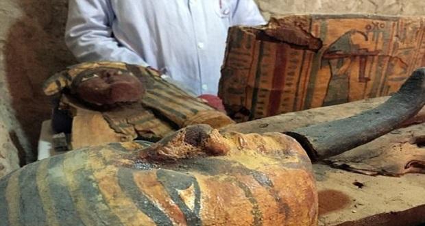 کشف هشت مومیایی 3500 ساله در مصر