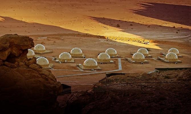 اقامتگاه های گنبدی مریخی