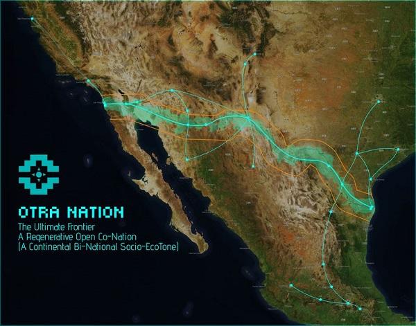 شبکه هایپرلوپ Otra Nation، 2000 کیلومتر امتداد خواهد داشت و مرز آمریکا و مکزیک را به قلمرویی مستقل تبدیل می کند