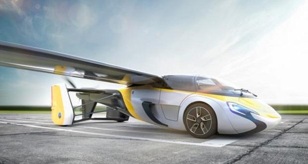 ایروموبیل از ماشین پرنده خود رونمایی میکند
