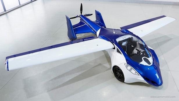ماشین پرنده ایروموبیل