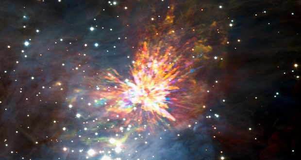 ابرنواختر دیدنی؛ تولد ستارگان در ابر مولکولی اوریون