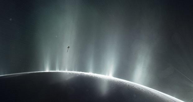 کشف شواهد جدیدی از وجود هیدروژن در انسلادوس
