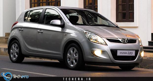 هیوندای i20 نسل اول مدل سال 2009 میلادی