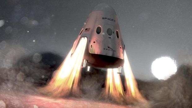 با 9 موتور سوخت متان، کپسول فضایی رد دراگون شرکت به مراتب از هر موشکی فعلی قوی تر خواهد بود. فضاپیمایی که در نهایت قادر به سفر به سیاره سرخ و حمل محموله ای به وزن 100 تن خواهد بود.
