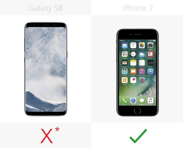 قابلیت لمس سه بعدی یا 3D Touch اپل، به شما این امکان را می دهد که با فشار عمیق تر روی نمایشگر، به شورتکات ها یا میانبرهای مختلفی که سیستم عامل iOS در اختیارتان قرار داده، دسترسی داشته باشید. گوشی سامسونگ گلکسی اس 8 نیز از تکنولوژی مشابهی بهره می برد، اما به جای اینکه در سرتاسر نمایشگر تعبیه شده باشد، تنها روی دکمه ی هوم مجازی قرار گرفته است.
