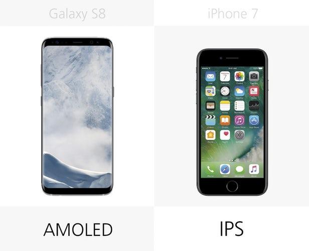 شایع شده که گوشی های آیفون تا پایان امسال از نمایشگرهای آمولد برخوردار خواهند شد، با اینحال گوشی آیفون 7 همچنان به مدل IPS محدود شده است.