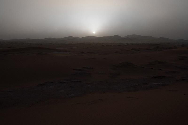 مریخ گردی در شب
