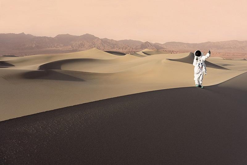 سلفی در صحرای سرخ