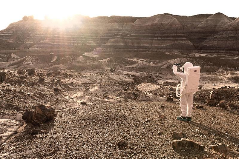 این مناظر خیره کننده، شباهت چشمگیری به آنچه از سطح مریخ متصوریم دارند