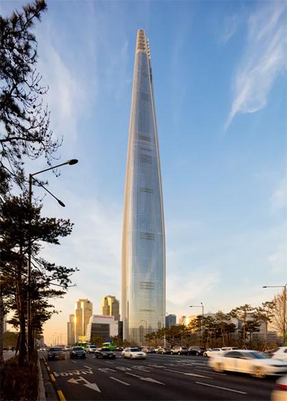 نمای سه بعدی ساختمان