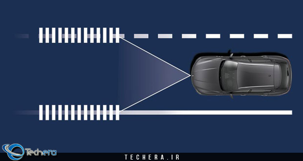 سیستم هشدار خروج از خطوط جاده