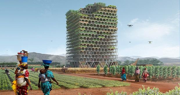 طرح های برتر رقابت آسمان خراش ایوولو؛ از برج مدولار زراعی در آفریقا تا کارخانه عمودی