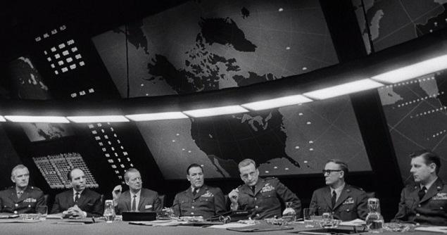 اتاق جنگ معروف فیلم دکتر استرنجلاو