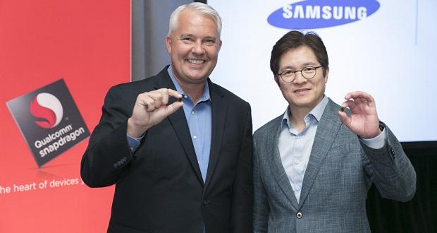 سامسونگ و کوالکوم پردازنده اسنپدراگون 845 را برای گوشی گلکسی اس 9 تولید می کنند
